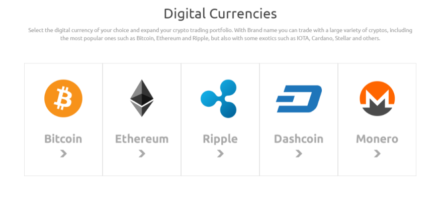 kontofx cryptocurrencies